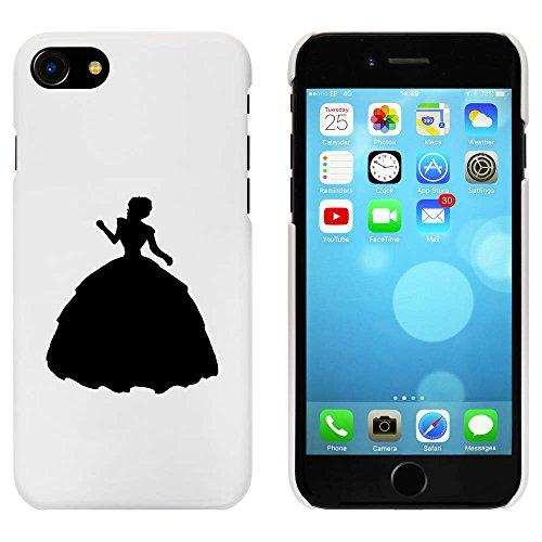 Blanc 'Silhouette Femme' étui / housse pour iPhone 7 (MC00063930)