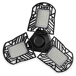 LED Garage Lights,60W E26/E27 6000LM Def...