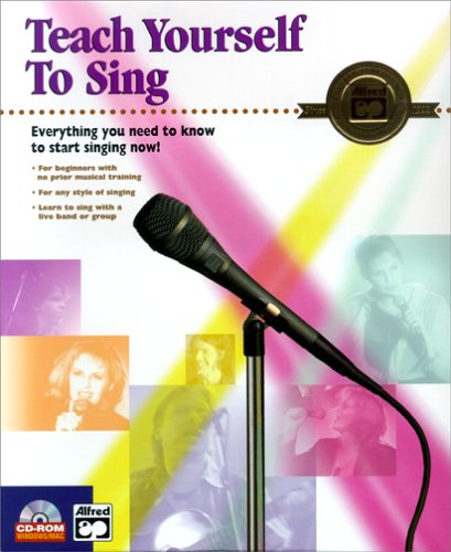 Teach Yourself to Sing Software for PC & Mac