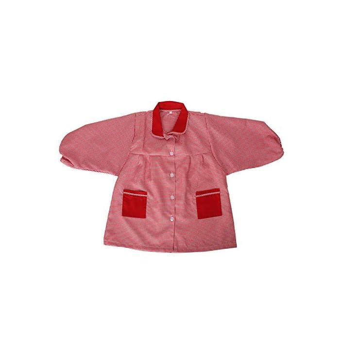 51YETDltKHL Baby 609 Bata Infantil uniforme guarderia 65% Poliéster, 35% Algodón Cierre: Botón
