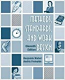 img - for Methods, Standards, and Work Design by Benjamin W. Niebel (2002-08-01) book / textbook / text book