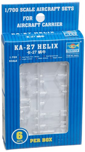 Trumpeter 1/700 Ka27 Helix Helicopter Set for Russian Carriers (6-Box)