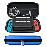 Cheap Travel Carrying Case for Nintendo Switch with 10 Game Card Slots, Soft Inner, Double Zipper Design Protects Nintendo Switch Console, Joy-Cons