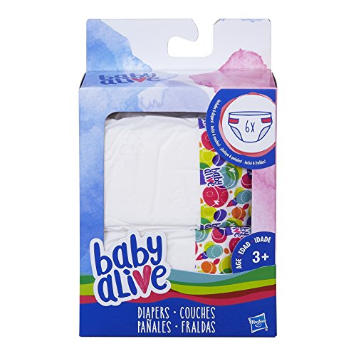 Baby Alive Diapers Pack 6 Pack