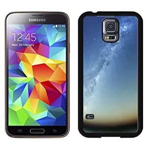 Fashionable Custom Designed Samsung Galaxy S5 I9600 G900a G900v G900p G900t G900w Phone Case With Milky Way Galaxy Rising_Black Phone Case