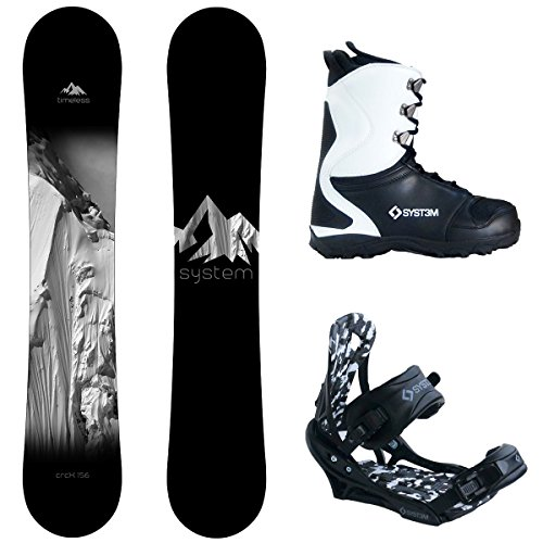 System Timeless and APX Complete Men's Snowboard Package New 2018