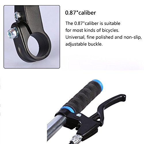 Bicycle Brake Levers Hand Brakes For Bicycles 2pcs Aluminium Alloy MTB Bike Bicycle Cycling Brake Level Handles