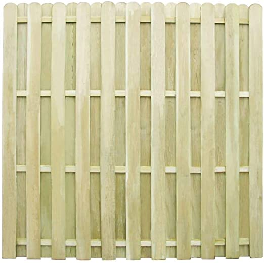 vidaXL Panel de Valla Jardín Cuadrado Madera de Pino Impregnada Pared Patio: Amazon.es: Jardín