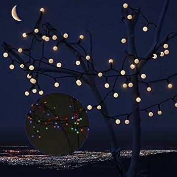 Amazon Com Ailams Christmas Ball String Lights Steady