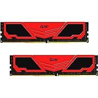 Team Elite Plus 16GB (2 x 8GB) DDR4 288-Pin DIMM Desktop Memory