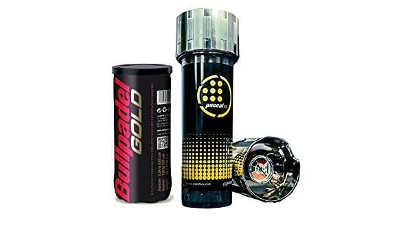 Pascal Box + Bote Pelotas Bull Padel Gold: Amazon.es ...
