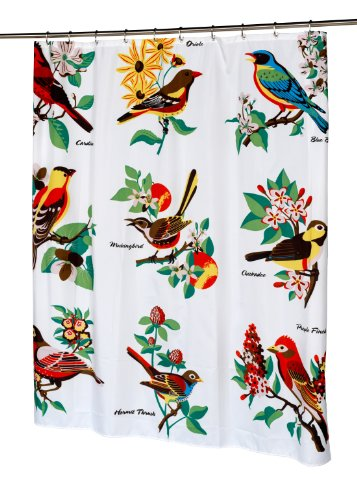Audubon Birds Shower Curtain
