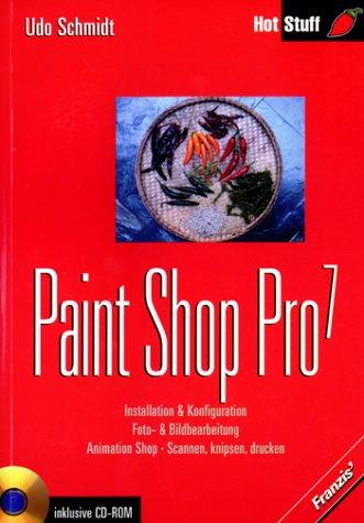 Paint Shop Pro 7 m. CD-ROM