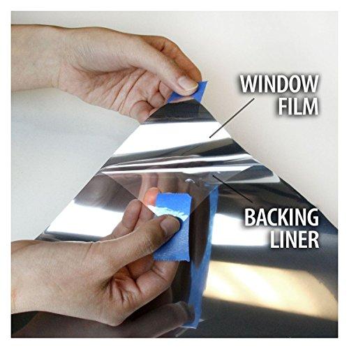bdf s35 window film high heat rejection reflective silver 35 medium 36in x 12ft buy online. Black Bedroom Furniture Sets. Home Design Ideas