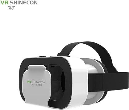 BIYI Realidad virtual VR Box VR SHINECON 5.0 Gafas Auriculares ...
