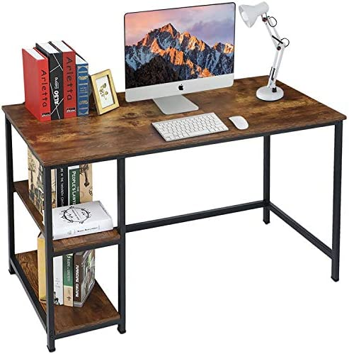 VANSPACE Computer Desk 47 Inch Industrial Writing Desk