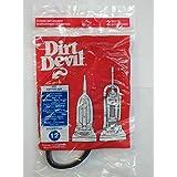Royal Dirt Devil Style 12 Vacuum Belts Platinum Force Ultra Vision Turbo 4pk