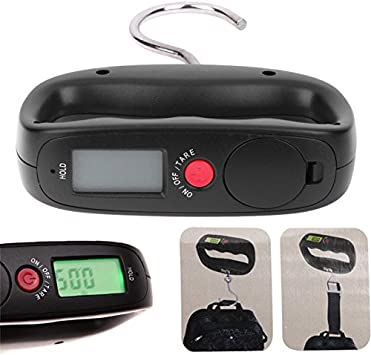 Electronic Hanging Fishing Digital Pocket Weighing Hook Scales LCD Backlight