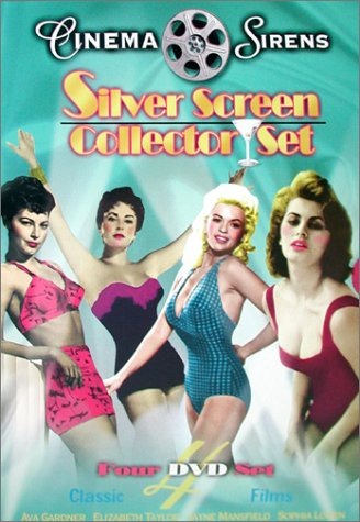 Cinema Sirens - Silver Screen Set (The Snows of Kilimanjaro/The Fat Spy/Two Women/The Last Time I Saw Paris)