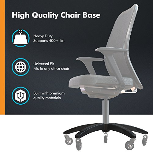 Fabulous Office Chair Base Replacement Heavy Duty Chair Parts To Ibusinesslaw Wood Chair Design Ideas Ibusinesslaworg