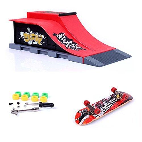 Skate Park Ramp Parts for Tech Deck Fingerboard Finger Board A - 6