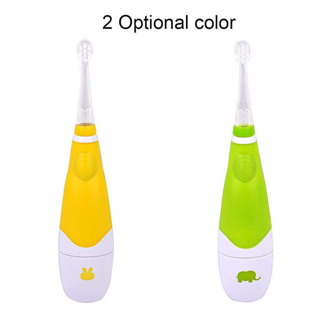 Amazon.com: Childrens Toohtbrush 1-3 Years Electric Toothbrush For ...