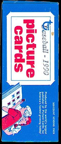 1990 Topps Baseball Vending Box ~ Wax Pack Sammy Sosa Rookie Card RC Set Case ()