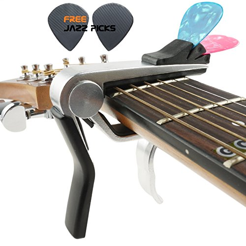 Mr.Power Guitar Capo With Pick Holder For Acoustic Electric