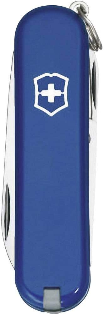 BLUE VICTORINOX CLASSIC SD KEYRING SIZE SWISS ARMY PENKNIFE
