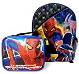 The Amazing Spiderman Spider-man 16 Backpack and Lunch Box Kit Tote Combo
