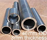 40mm OD 3mm thickness 40x3x500mm GR2 titanium tube TA2 titanium alloy pipe anti-corrosion high temperature pressure