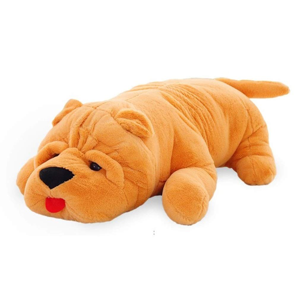 primera reputación de los clientes primero amarillo Peluches Juguete de Felpa Puppy Pillow Sleeping Doll Doll Doll Sofa Cushion Decoración de la habitación de los niños Regalo (Color   amarillo, Talla   120cm) 100cm  el estilo clásico