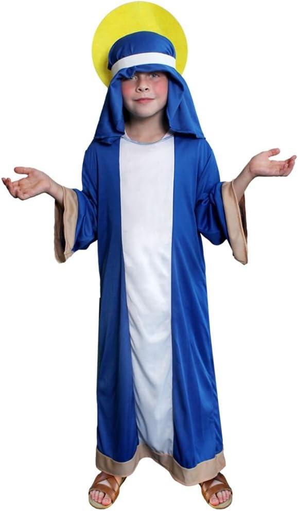 ILOVEFANCYDRESS Disfraz DE Virgen Maria para NIÑOS COSTUMA DE ...