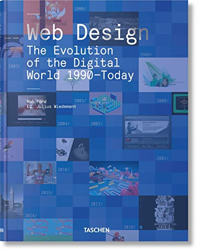 Web Design. The Evolution Of The Digital World 1990–Today (Midi) por Rob Ford