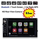 Touch Screen Car Stereo, Boyiya 6.5 Bluetooth Touch Car Stereo Audio MP3 Player FM Radio USB AUX GPS