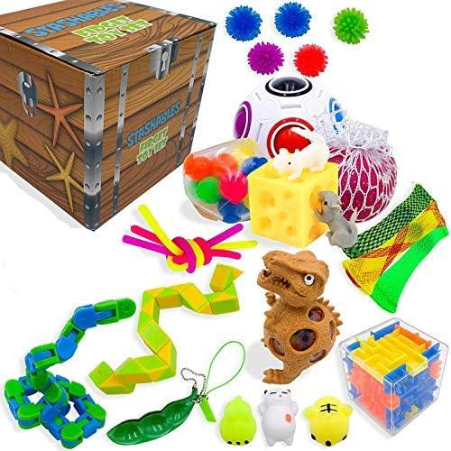 222839 PCS Pack Sensory Fidget Toys Set Stress Relief Speelgoed Autisme Angst Relief Stress Pop Bubble Fidget Speelgoed Voor Kinderen Volwassenen