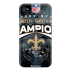 Scratch Resistant Hard Phone Covers For Iphone 6 With Support Your Personal Customized High-definition New Orleans Saints Pattern JasonPelletier