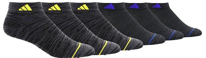 0ae72f40e07d Amazon.com  adidas Kids  - Boys Girls Superlite Low Cut Socks (6 ...