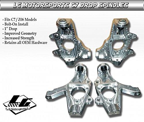 LG Motorsports Corvette C7 Drop Spindles