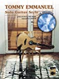 img - for Tommy Emmanuel -- Solo Guitar Style (Book & CD) book / textbook / text book