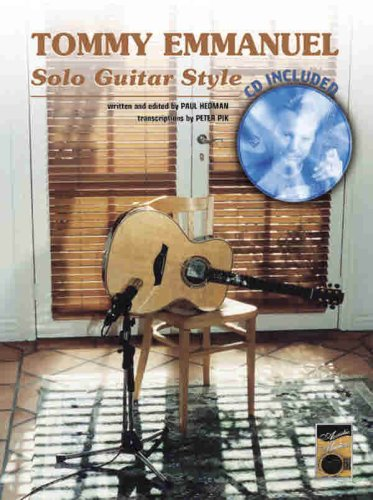 Tommy Emmanuel -- Solo Guitar Style: Book & CD