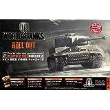 イタレリ プラッツ 1/35 WORLD OF TANKS ドイツ 重戦車VI号戦車 ティーガー1型プラスチックモデルキット WOT39502