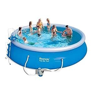 Bestway m115575 piscina autoportante jard n for Amazon piscinas