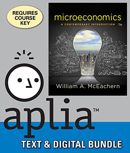 Bundle: Microeconomics: A Contemporary Introduction, Loose-Leaf Version, 11th + Aplia, 1 term Printed Access Card