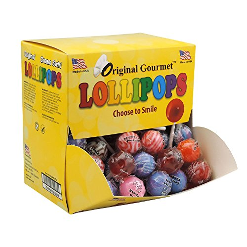 Original Gourmet Change Maker Mini Cream Swirl and Original Lollipops, 100 -