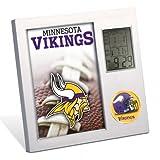 NFL Minnesota Vikings Desk Clock by Wincraft