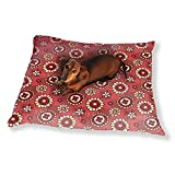 Flowers And Patches Dog Pillow Luxury Dog Cat Pet Bed