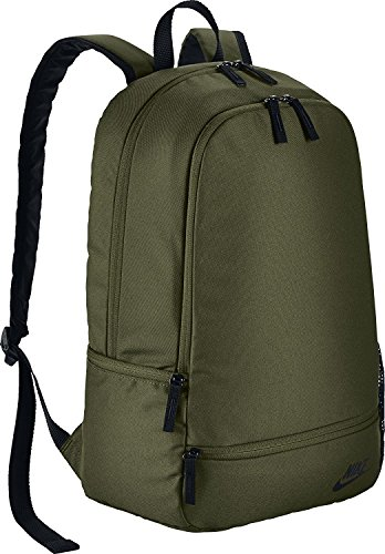 Nike Classic North Solid Backpack (BA5274-331) Green by NIKE