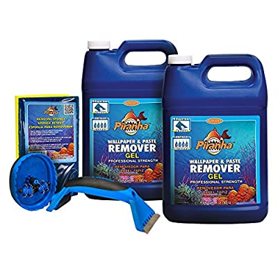 Roman 209931 2 gal Piranha Gel Wallpaper Removal Kit, Medium Room
