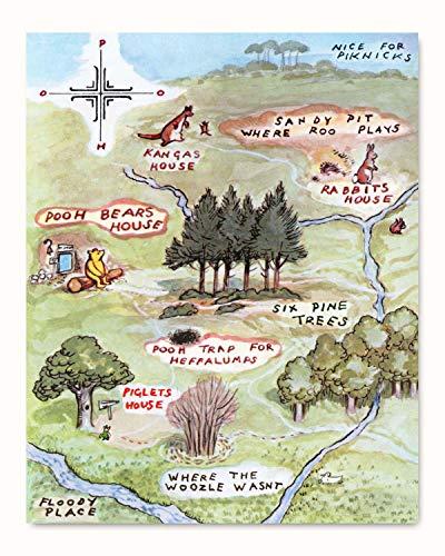 100 aker wood map - 6